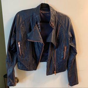 Blank NYC Moto Leather Jacket
